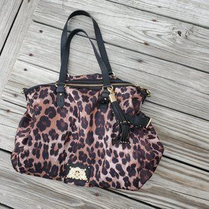 PRICE NOW FIRM AT $18.00 (WILL ACCEPT $15.00)! ANIMAL PRINT HANDBAG